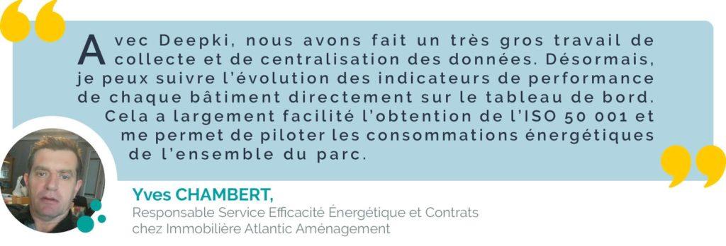 Certification iso 50 001 : Yves Chambert de chez IAA livre son retour d'expérience
